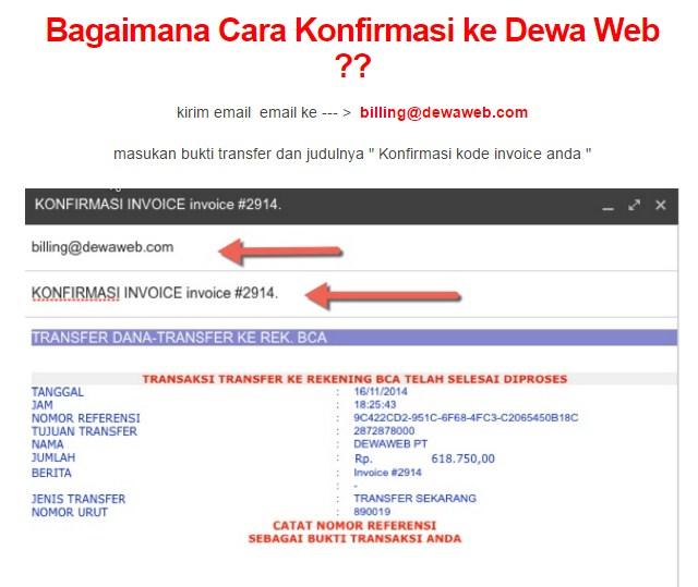 tutorial beli hosting di dewaweb