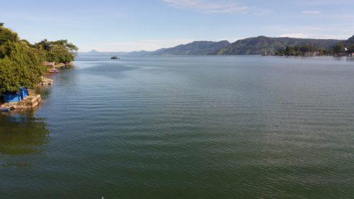 Keindahan Danau Toba di Kota Wisata Parapat