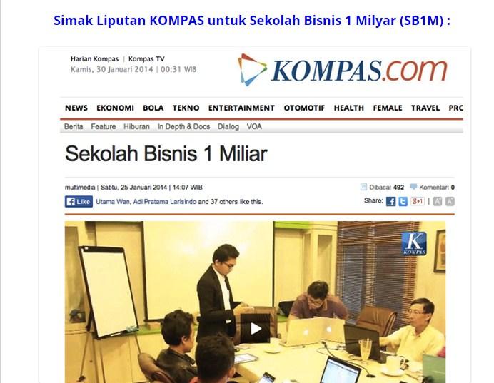 SB1M Diliput KOMPAS 25 Januari 2014