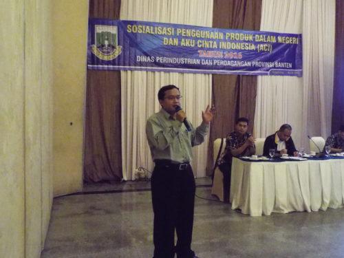 Pembicara Digital Marketing Deperindag Banten di Tangerang
