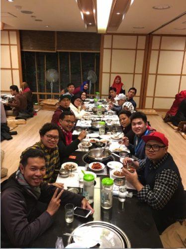 Cerita Perjalanan Komunitas SB1M di Korea 16-21 November 2016
