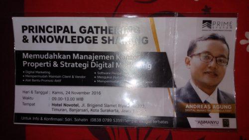 Pembicara Online Marketing Nomor Satu Andreas Agung