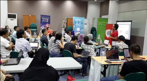 Seminar Workshop Bisnis Online SB1M di Depok