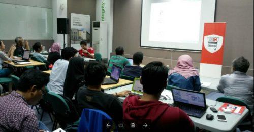 Seminar Workshop Digital Marketing SB1M di Jakarta.