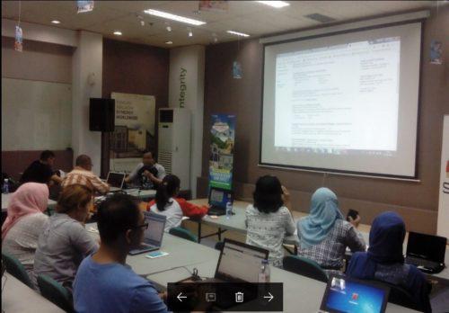 Seminar Workshop Bisnis Online SB1M di Jakarta Pusat