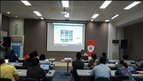 Seminar Workshop Bisnis Online SB1M di Serang