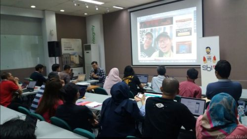 Seminar Workshop Bisnis Online SB1M di Garut
