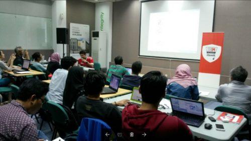 Seminar Workshop Bisnis Online SB1M di Semarang