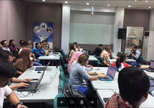 Seminar Workshop Digital Marketing SB1M di Serang