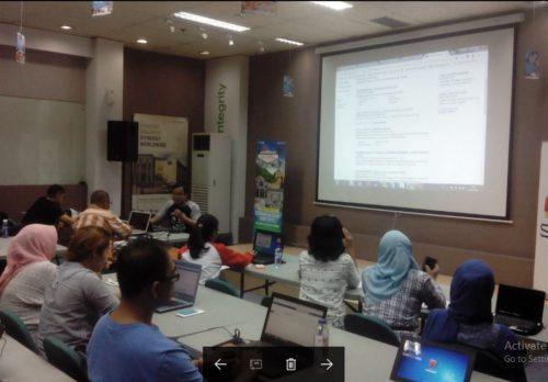 Seminar Workshop Internet Marketing SB1M di Tangsel
