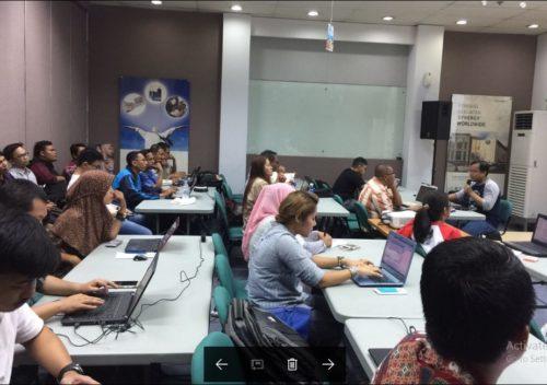 Seminar Workshop Bisnis Online SB1M di Tangerang