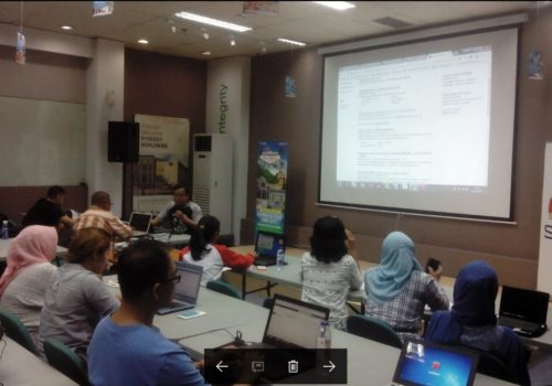 Seminar Workshop Digital Marketing SB1M di Purwokerto