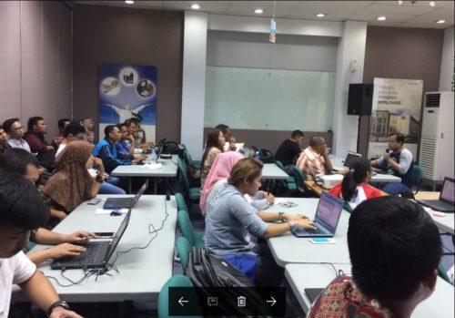 Seminar Workshop Bisnis Online SB1M di Karawang