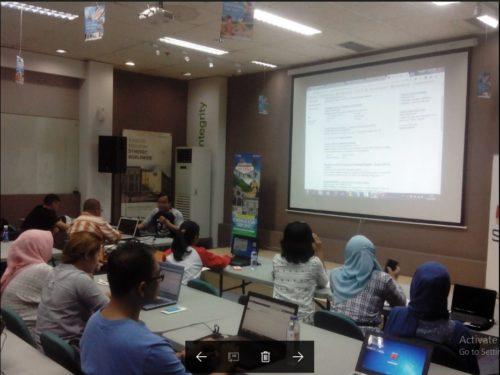 Seminar Workshop Bisnis Online SB1M di Cilegon