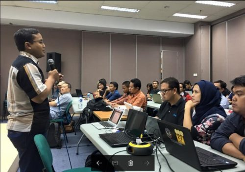 Seminar Workshop Bisnis Online SB1M di Pekalongan