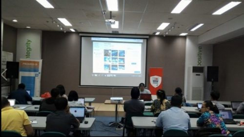 Seminar Workshop Bisnis Online SB1M di Klaten