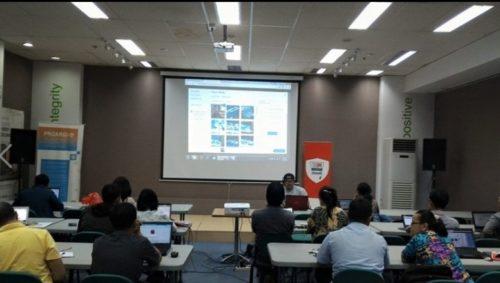 Seminar Workshop Bisnis Online SB1M di Aceh