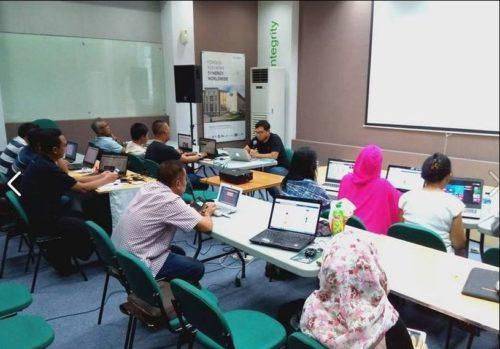 Seminar Workshop Bisnis Online SB1M di Bima NTB