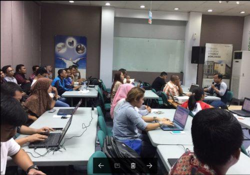 Kelas Internet Marketing SB1M di Yunani