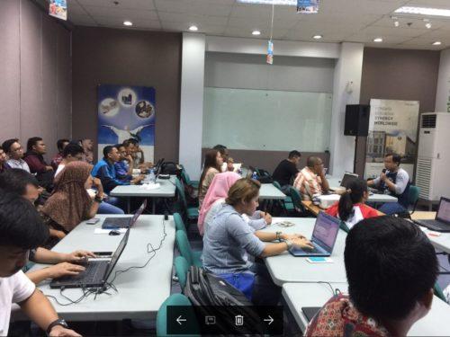 Seminar Workshop Bisnis Online SB1M di Lombok NTB