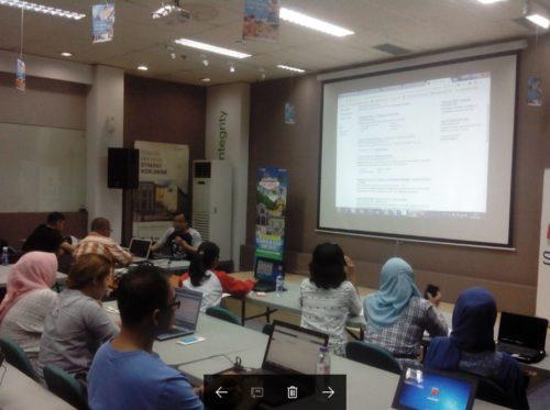 Seminar Workshop Bisnis Online SB1M di Malang