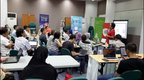 Seminar Workshop Digital Marketing SB1M di Pontianak