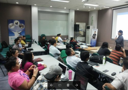 Seminar Workshop Internet Marketing SB1M di Bontang