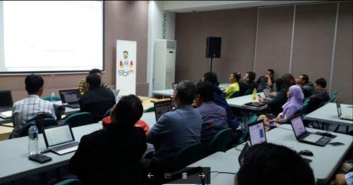 Seminar Workshop Bisnis Online SB1M di Bengkulu