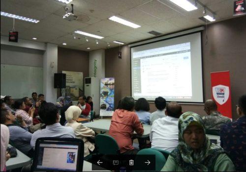 Seminar Workshop Digital Marketing SB1M di Bontang