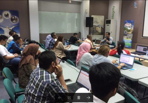 Seminar Workshop Bisnis Online SB1M di Palembang