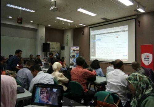 Seminar Workshop Bisnis Online SB1M di Bangka Belitung