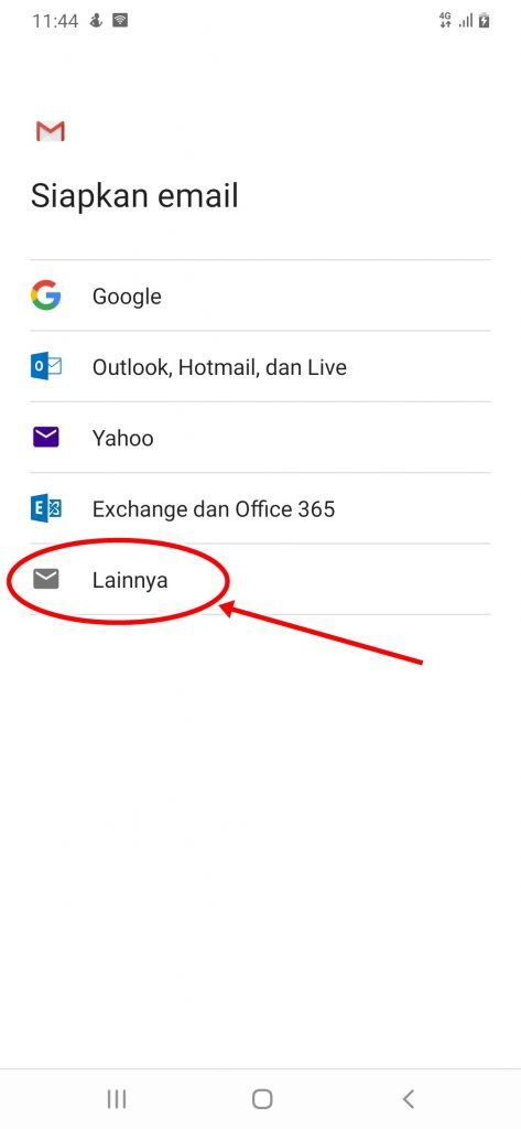 Cara Pasang Email Domain Sendiri di HP Android