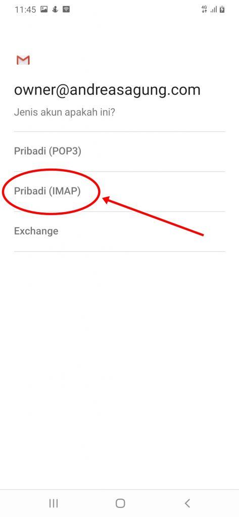 Cara Install Email Domain Sendiri di Android