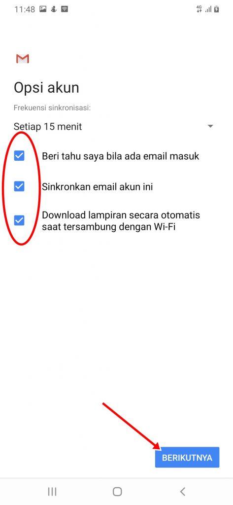 Cara Install Email Domain Sendiri di HP Android