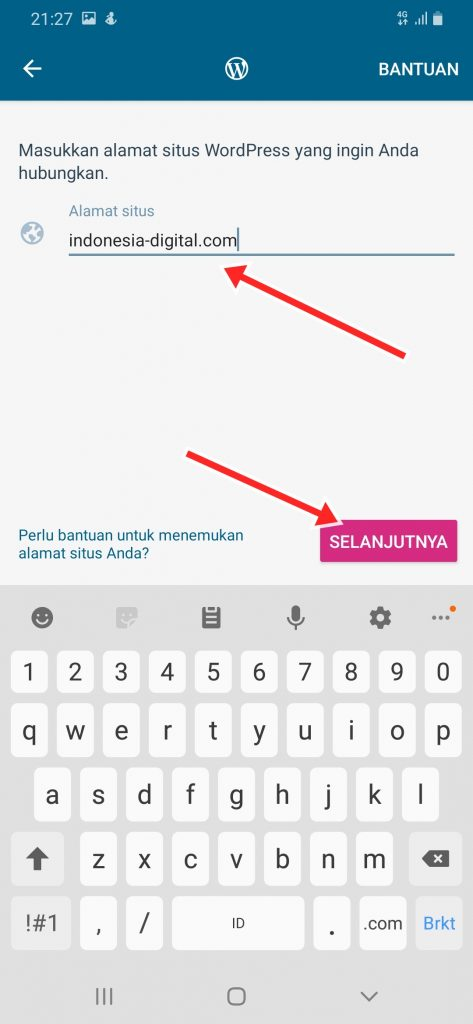 Cara Install Website WordPress ke HP Android
