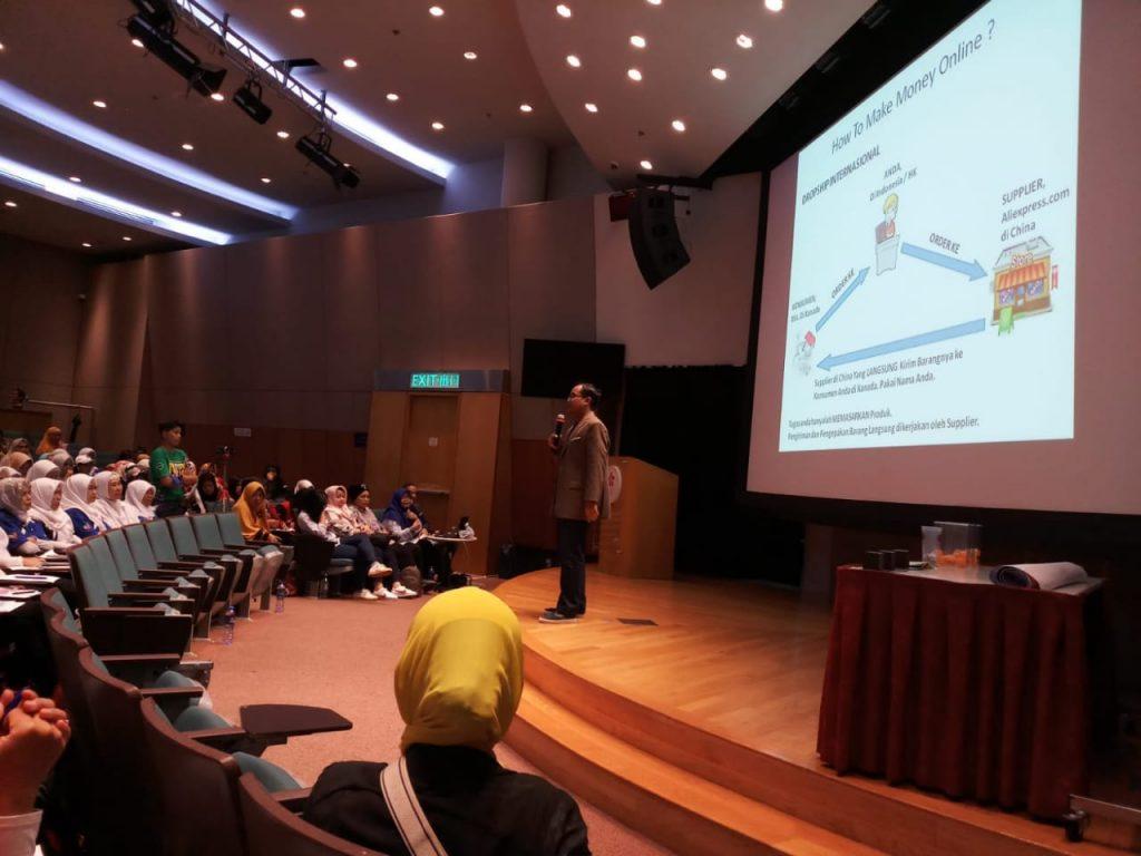 Pembicara E-Commerce Andreas Agung