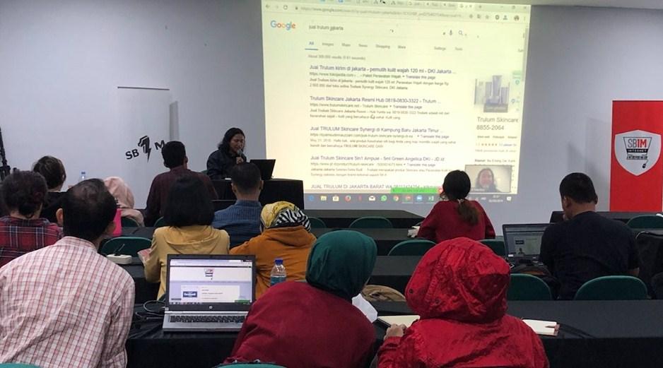 Training Online Marketing di Masa Pandemi