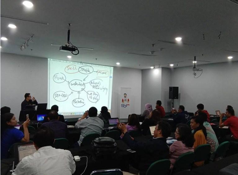 Training Online E-commerce Bisnis di Masa Pandemi