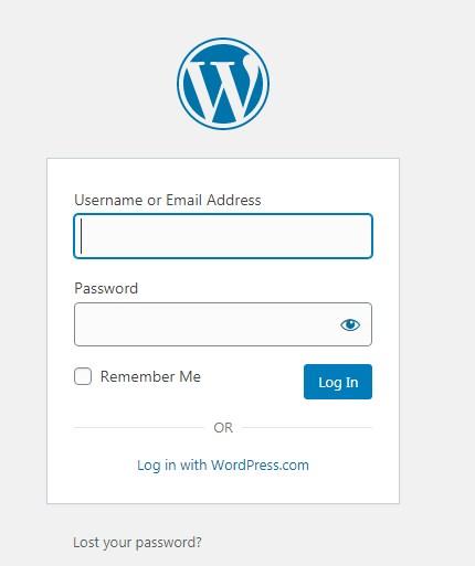 Cara Mengganti Login WP Admin